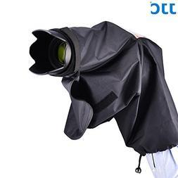 "JJC 22cm/8.6"" Waterproof Rain Cover Coat Poncho for Nikon DK"