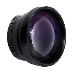 Optics 2.0x High Definition Telephoto Conversion Lens for Ca