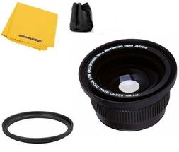 Bower Wide Angle  Lens For Nikon D5600 D3500 D3400 w/ AF-P D