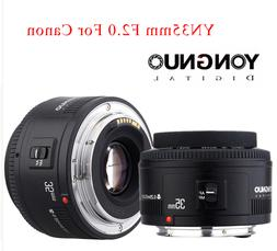 YONGNUO Wide-angle Fixed Auto Focus Lens YN 35MM F2  AF For