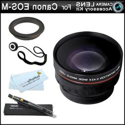 Wide Angle Lens Kit For Canon EOS M, EOS-M Compact Systems D