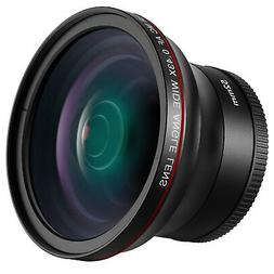 Neewer 52MM 0.43x Professional HD Wide Angle Lens  for NIKON