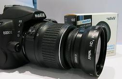 Wide Angle Macro Lens for Nikon d3100 d3200 d3000 d5100 d500