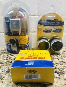 Digital Concepts Wide Angle Telephoto Lens, Video Light & 5