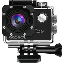 WIFI Action Camera, SOOCOO Sports Video Camera Waterproof 12