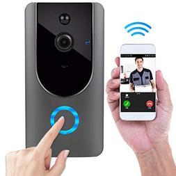 Wireless Doorbell, Smart Door Bells Home Security Bell Camer