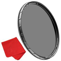 72mm X2 CPL Circular Polarizing Filter for Camera Lenses - A