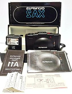 Olympus XA2 35mm Film Flash Camera w/Olympus D-Zuiko 1:3.5 f