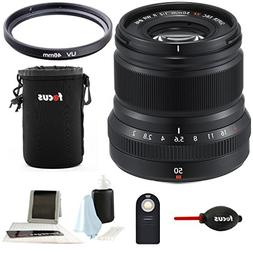 Fujifilm XF50mmF2 R WR Lens  w/Focus Accesory Bundle