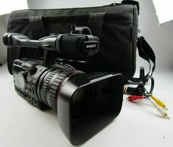 Canon XH A1s Mini DV 3CCD HD Video Camera Recorder w/20x Zoo