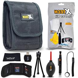 Xtech Camera Accessories Kit Bundle for Canon Powershot XS73
