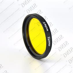Yellow 30 37 40.5 43 46 49 Full Color Colour <font><b>Camera