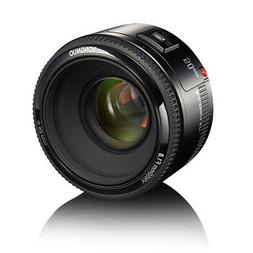 YN 50mm F1.8 EF AF Large Aperture Auto Focus Prime Lens For