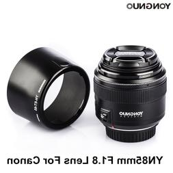 YONGNUO YN85mm F1.8 <font><b>Lens</b></font> AF / MF Standar