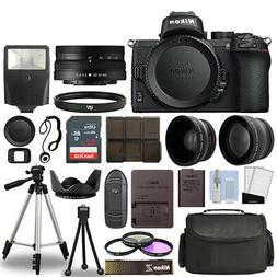 Nikon Z50 Mirrorless Camera Body + 3 Lens Kit 16-50mm Z VR +